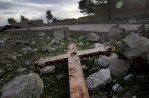 En rapport från det brittiska utrikesdepartementet fastslår att det i Mellanöstern görs rena utrotningsförsök av kristendomen som religion och miljontals kristna har drivits bort från sina hem och kidnappats, fängslats eller mördats. Foto: Hussein Malla/AP Photo