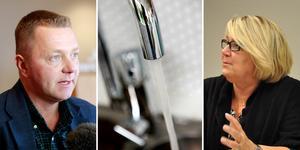 Ockelbo vattens styrelseordförande Magnus Jonsson, S, och Älvkarleby vattens styrelseordförande Ingalill Tegelberg, S, fick sina arvoden kraftigt höjda.