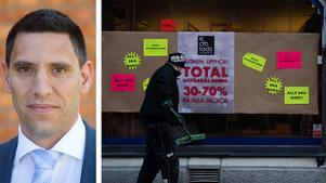 Fastighetsägarna MittNords vd Andreas Sjöborg skriver att handeln i centrum får ge vika för andra aktiviteter.
