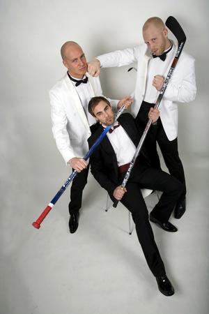 Andreas Lindh, Jimmie Lindström och Stefan