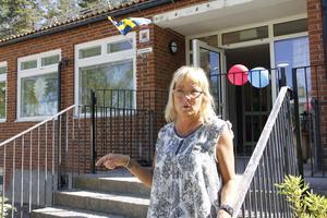 – Vi började flytta in i mars och håller fortfarande på att göra klart, berättade Carina Hansén som jobbar på nya förskolan Skogsudden.