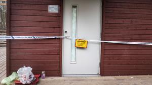 En adress på Frösön som är aktuell i utredningen om människorov spärrades av av polisen i inledningen av utredningen.