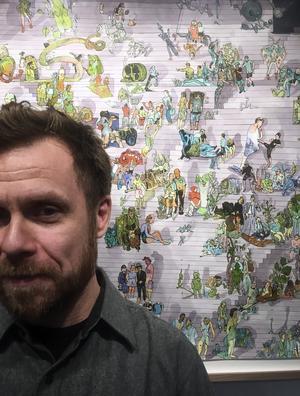 Konstnären Peter Köhler. Foto: Max Hebert.