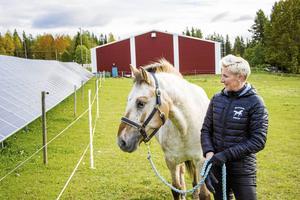 """Helena Svanberg är tävlingsledare för Augustidressyren som drar igång i helgen. Den har slagit rekord i antalet deltagare och siktet är ställt högre nästa år. """"Vi hoppas kunna utöka ännu mer"""" . Bilden är tagen vid ett tidigare tillfälle."""