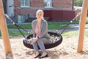 Sofia Carlén är rektor för den nya förskolan och ser fram emot att äntligen köra igång med förskolan.