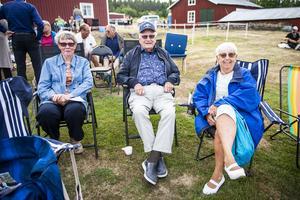 Janette Sörholm, Erik Hansson och Anita Hederberg.