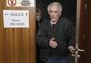 Domen mot Picassos elektriker Pierre Le Guennec och hans fru Danielle kommer att omprövas.Arkivbild: Lionel Cironneau/AP/TT
