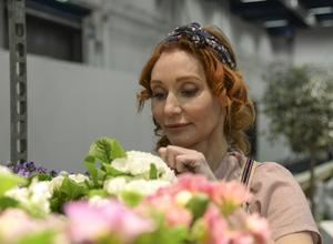 Linda Schilén, trädgårdsmästare, författare och föreläsare, föreläser i Nynäshamns Folkets hus den 9 oktober. Foto: Anna Karolina Eriksson / TT