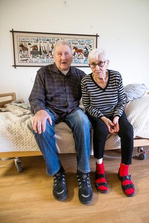 Gudrun Hägglund och Herbert Dahl kan numer bara ses en gång i veckan.