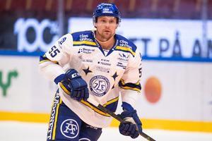Jonas Ahnelöv har tillfrisknat snabbt efter frånvaron mot Färjestad. Bild: Bildbyrån