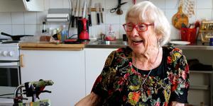 Astrid Söderbaum har precis fyllt 100 år.