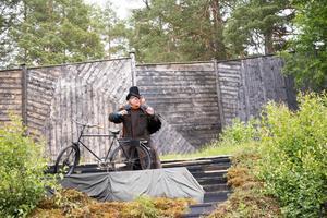 Mikael Rahm som Enöga i Dunderklumpen i Döda Fallet.