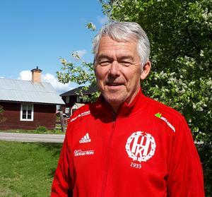 Kjell-Åke Nordström, Hedes tränare, ser fram mot derbyt mot Sveg.