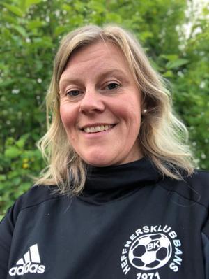 Gunilla Larsson, ordförande i Heffnersklubban.