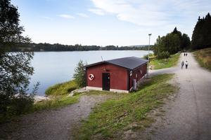 Pumpstationen vid Sidsjön färdigställdes 2015.