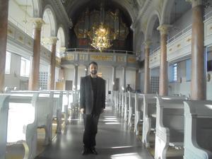 Lördagsmusik i Härnösands domkyrka med Marco Fonseca organist i Härnösands Landsförsamlingar