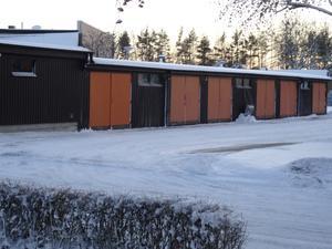 Garageportarna på Önsa Gryta. Foto: Privat