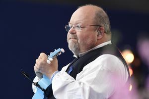 Kalle Moraeus är van vid musikprogram i tv.Bild: Mikael Fritzon/TT
