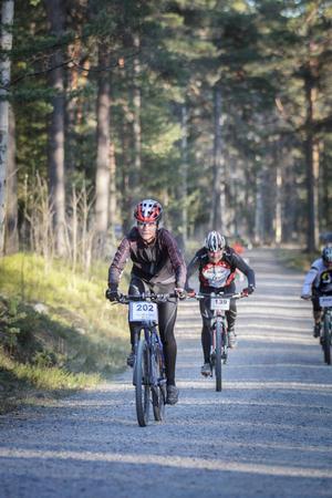 Lina Schols, Alfta-Ösa OK, slutade på en tredjeplats i damklassen.
