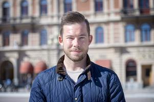 Alexander Thunborg, 29 år, säljare, Östermalm: