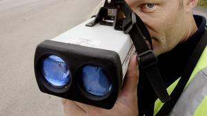 En förare körde 98 kilometer i timmen på en 60-väg i Stavreviken.