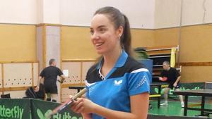 Anastasiia Burkova är ett nytt namn i IK Juno inför våren.
