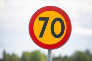 Det blir inga nya 70-skyltar på väg 68 mellan Norberg och Fagersta.