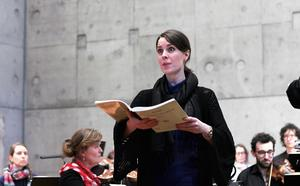 Repetetion av Händels oratorium The Triumph of Time and Truth. Foto: Petteri Saloma
