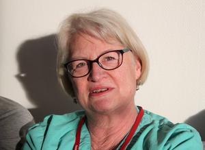 Marika Nygren Nilsson är förtjust i hemtjänstdistriktets nya lokaler.
