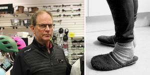Sportringens ägare Göran Eklund var inte på plats när tjuven upptäcktes, men är tacksam över de anställdas observation. Foto: Felicia Nordlund och TT