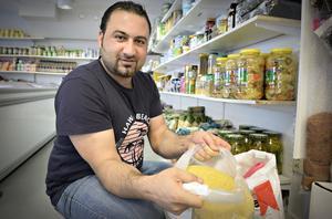 Abdulla Hariri öppnar ny livsmedelsbutik i Kramfors, Hamoda livs.