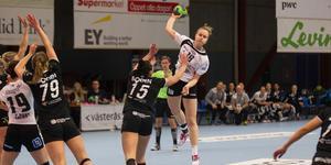 Emma Aarnio blev poängbäst under sin debutsäsong i VästeråsIrsta.