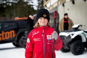Ture Lögdqvist, hockeyspelare i Timrå IK U9.