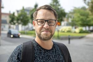 Robert Weidman, 46 år, HR-strateg, Sundsvall: