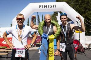 Marcus Ekström, Jonathan Hugemark och Emil Hagevik Bakke.  Foto: Mickan Palmqvist
