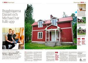 Michael Westlund och Daniel Österhof äger förutom Villa Rudebo Grönviksgården, som går att följa i sociala medier. Härnäst väntar bland annat årets sommarloppis den 6 juli på gården.