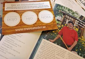 I broschyren Visit Nora lyfts lokala profiler, som  till exempel krögaren Josef Nassim Khzouz, fram. På bilden ser du också passet för trästadsklassikern.