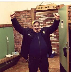 Göran Andersson var en glädjespridare i Fagersta. Foto:Fagersta AIK:s instagram
