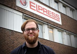 Max Phelan hade erbjudande om jobb som ingenjör med mekanik som specialitet från flera länder. Han valde att tacka ja till Elpress i Kramfors.