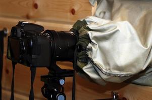Förutom systemkameran så hoppas Bengt att snart också få dokumentera djurlivet med hjälp av åtelkameror.