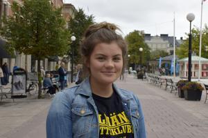 Ella Spjut, 16, studerande, Sundsvall: