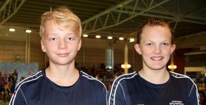 Lucas Humling och Saga Boråker.
