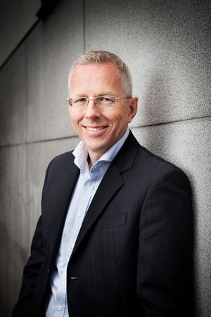 Björn Bergstrand är chef för medierelationer vid Kommuninvest. Foto: Kommuninvest