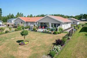 Med varje bostad följer också en gård på 640 kvadratmeter.