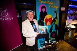Boken om Borlänges musikliv har just släppts och passande nog kunde besökarna köpa ett exemplar på Dalecarlia Music Awards.