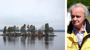 Professor Rolf Hallberg brinner för att Rädda Vättern /.FOTO: Gunnar Lundquist