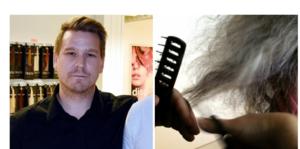 Magnus Gustafsson är stolt över sin personal som hanterat förändringen av frisörverksamheten på ett bra sätt.