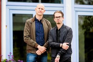 Thomas Norberg och Per Karlsson arrangerar Örnsköldsvik Rockfest via sitt företag