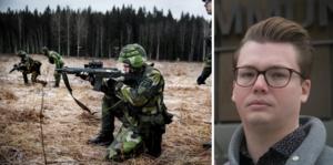 Johan Andersson och andra av länets ledande centerpartister riktar kritik mot (S) hantering av försvarsfrågan.