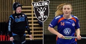 Lauma Visnevska och Elvira Lövén.